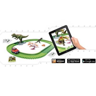 Pista Dino Mundi Furia T-Rex 120 Peças - Fun