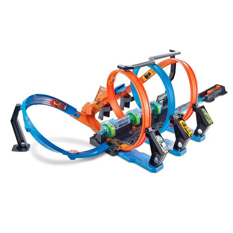 Pista Hot Wheels Espiral de Batidas - Mattel