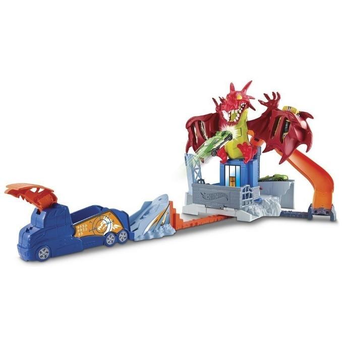 Pista Hot Wheels Fúria do Dragão - Mattel