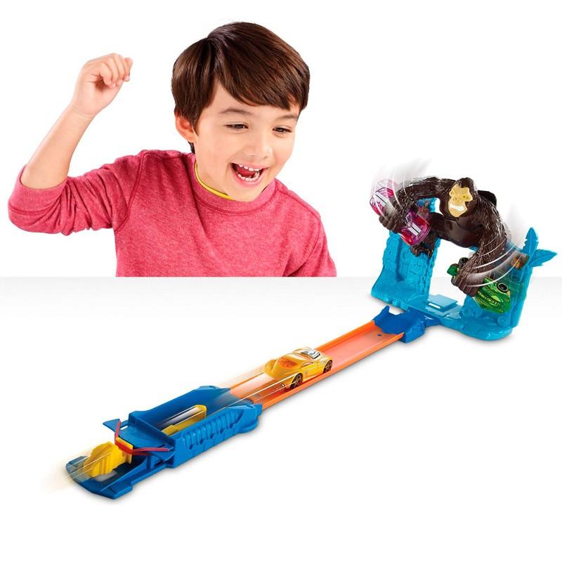 Pista Hot Wheels Radical Escape do Gorila - Mattel