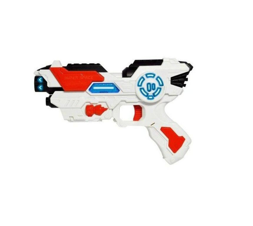 Pistola Space Weapon com Luz e Som - Dm Toys