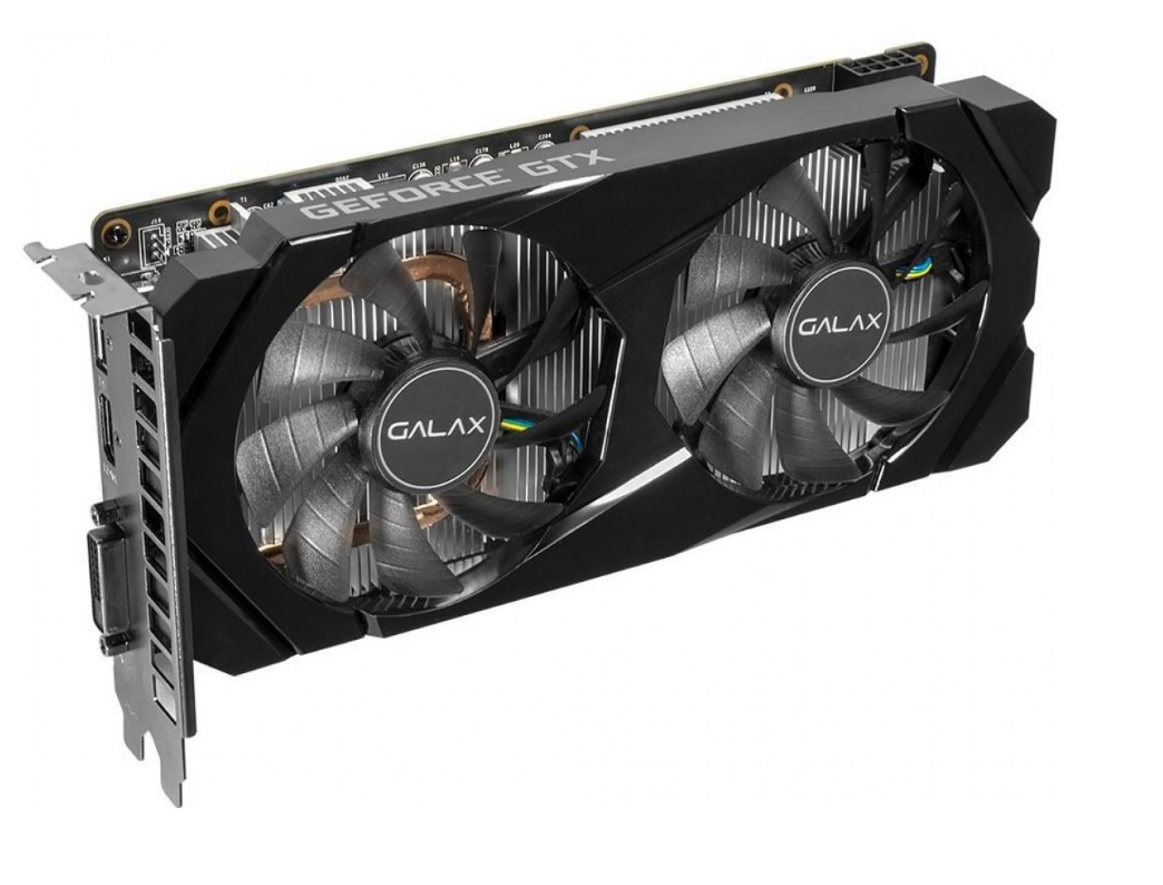 Placa de Vídeo Galax GeForce GTX 1660 Super Dual 1-Click OC 6GB GDDR6 192Bit 60SRL7DSY91S