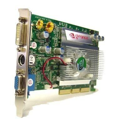 Placa de Vídeo Mymax Geforce FX 5500 256MB DDR 128-Bits