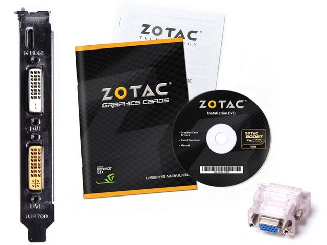 Placa de Vídeo Zotac Geforce GT 640 2GB DDR3 128-Bits DVI/Mini HDMI