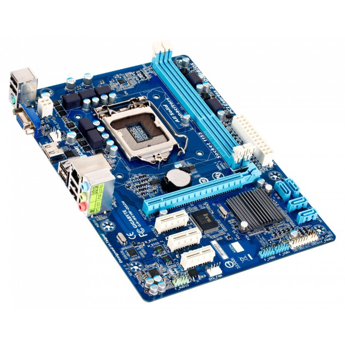 Placa Mãe Gigabyte Ultra Durable p/ Intel H61M-DS2H Lga 1155 DDR3