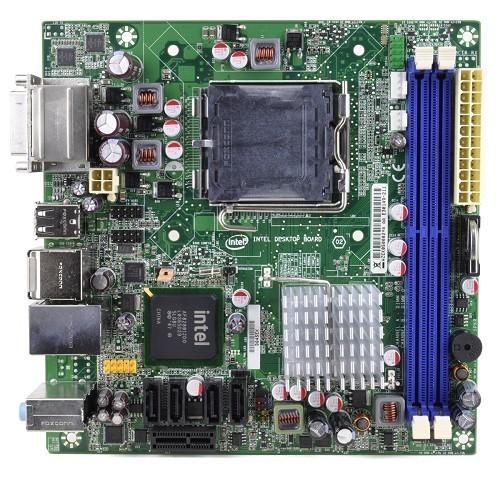 Placa Mãe Mini Intel DQ45EK Socket 775 DDR2