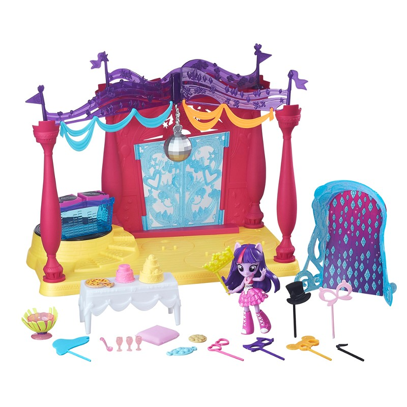 Playset My Little Pony Equestria Girls Canterlot High Pista de Dança - Hasbro