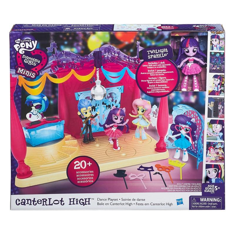 Playset My Little Pony Equestria Girls Canterlot High Pista de Dança - Hasbro