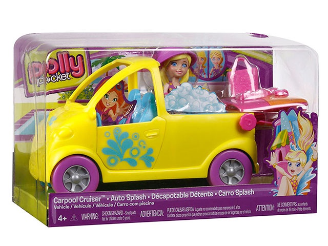 Polly Pocket - Carro Splash - Mattel
