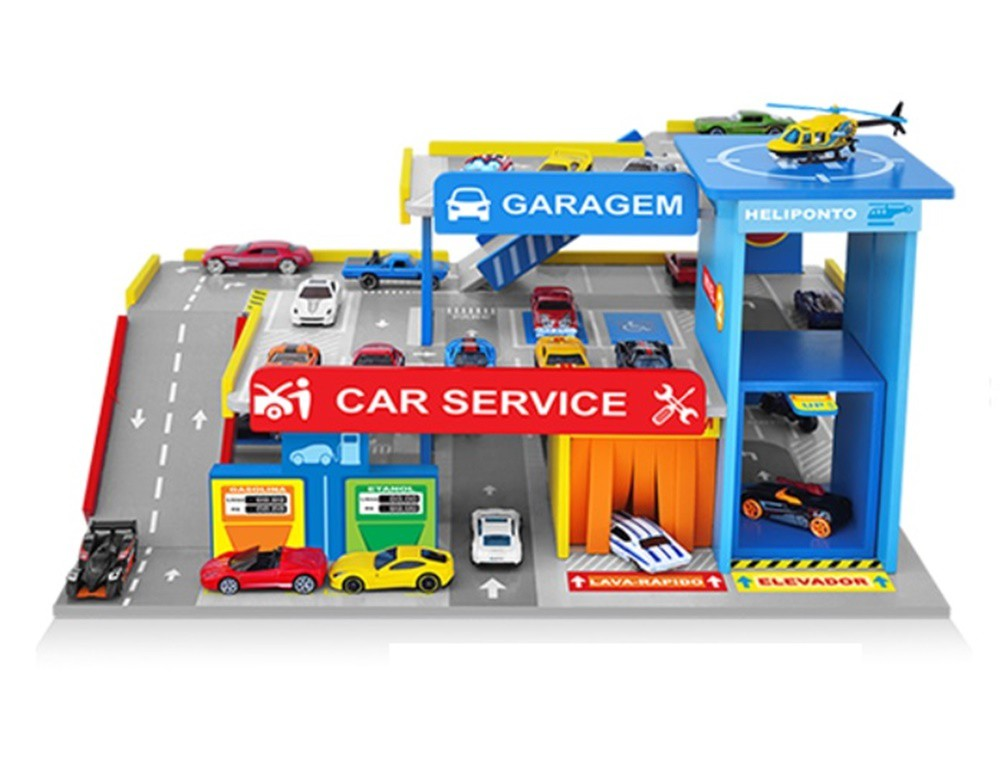 Postinho e Garagem Car Service em Madeira - Junges