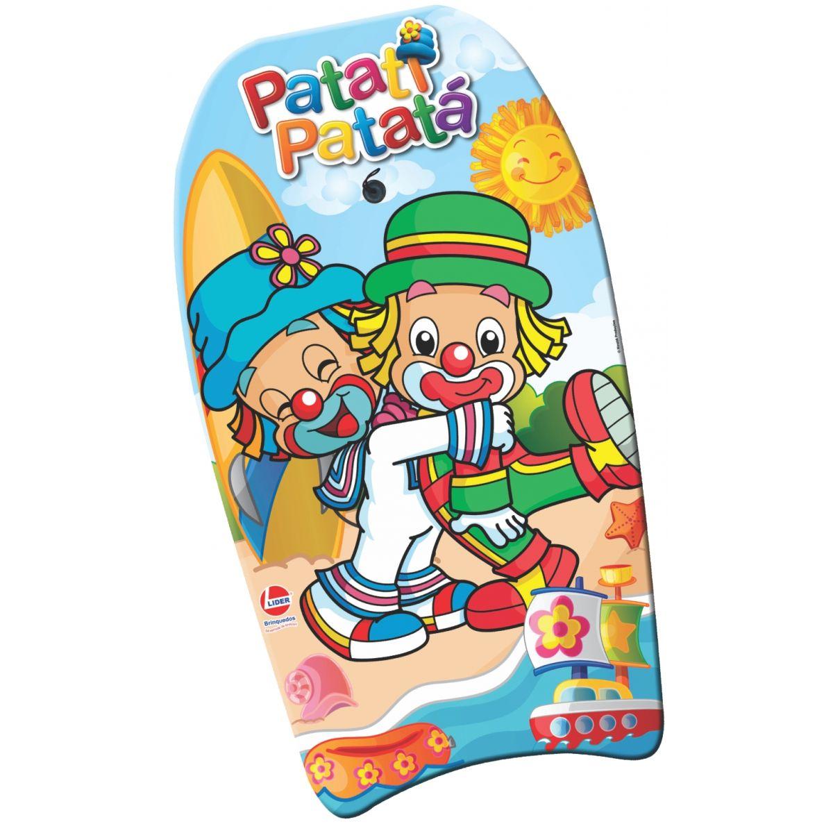 Prancha Tamanho G Patati Patatá - Lider Brinquedos