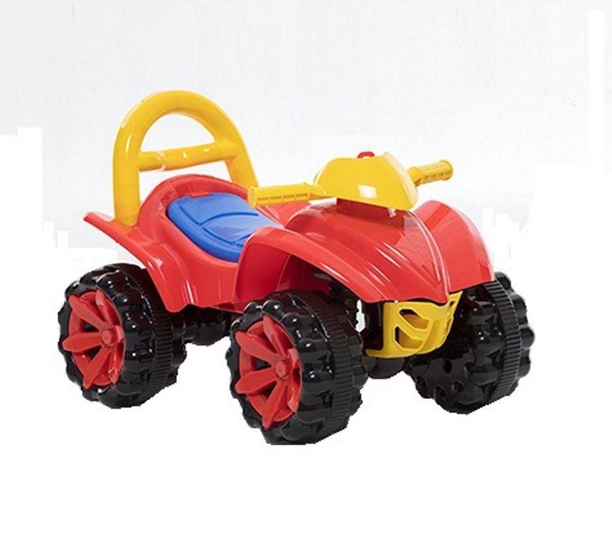 Quadriciclo Toy Kids 2 em 1 com Empurrador - Paramount