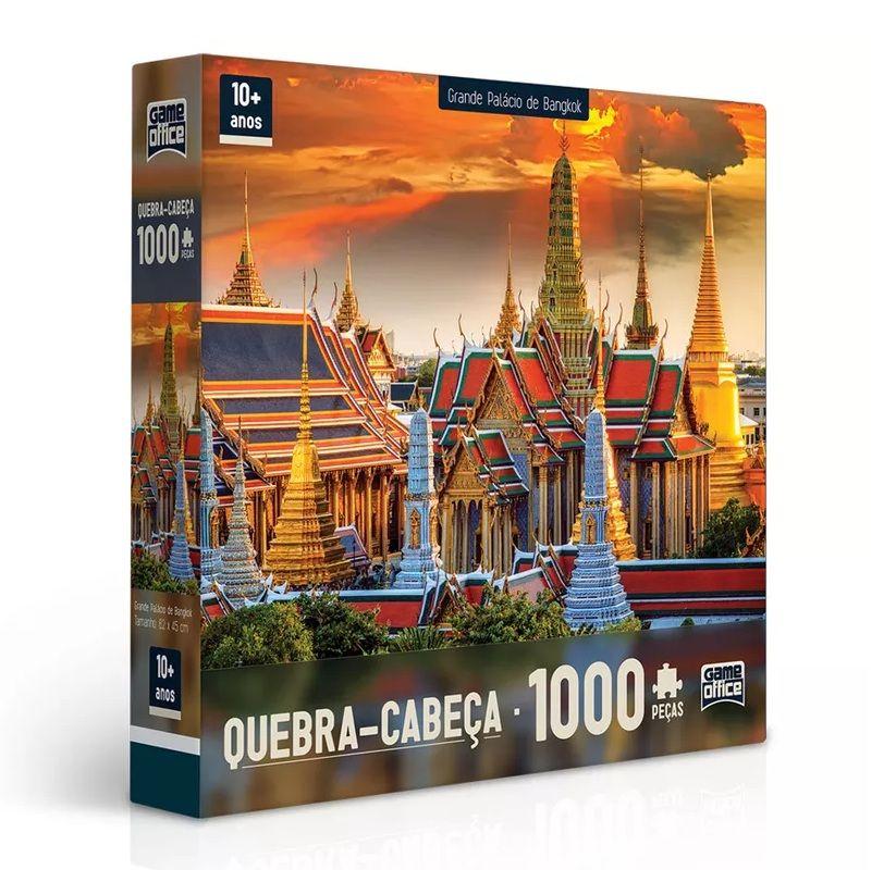 Quebra-cabeça 1000 Peças - Game Office
