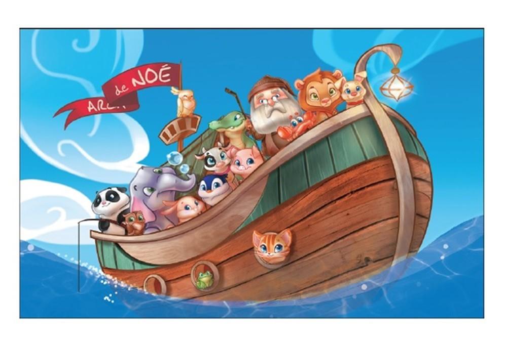 Quebra-cabeça Arca de Noé 60 Peças - Pais e Filhos