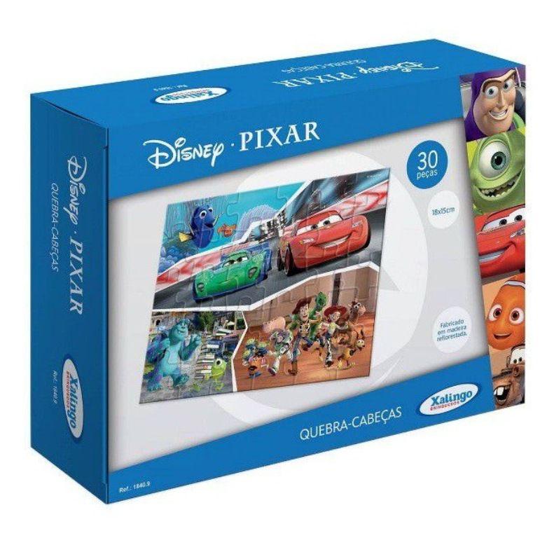 Quebra-cabeça Disney Pixar 30 Peças - Xalingo