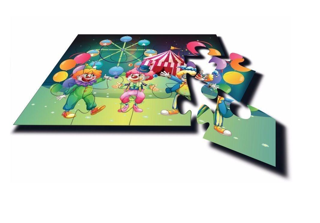 Quebra-cabeça Gigante Circo 12 Peças - Algazarra