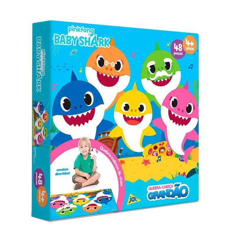 Quebra-cabeça Grandão Baby Shark 48 Peças - Jak