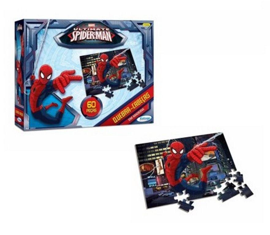Quebra-cabeça Homem Aranha 60 Peças - Xalingo