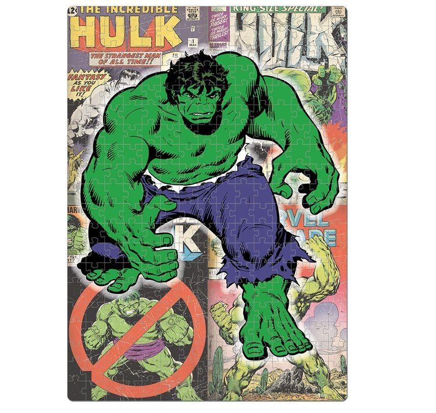 Quebra-cabeça Nano Marvel Comics Avengers 500 Peças - Toyster