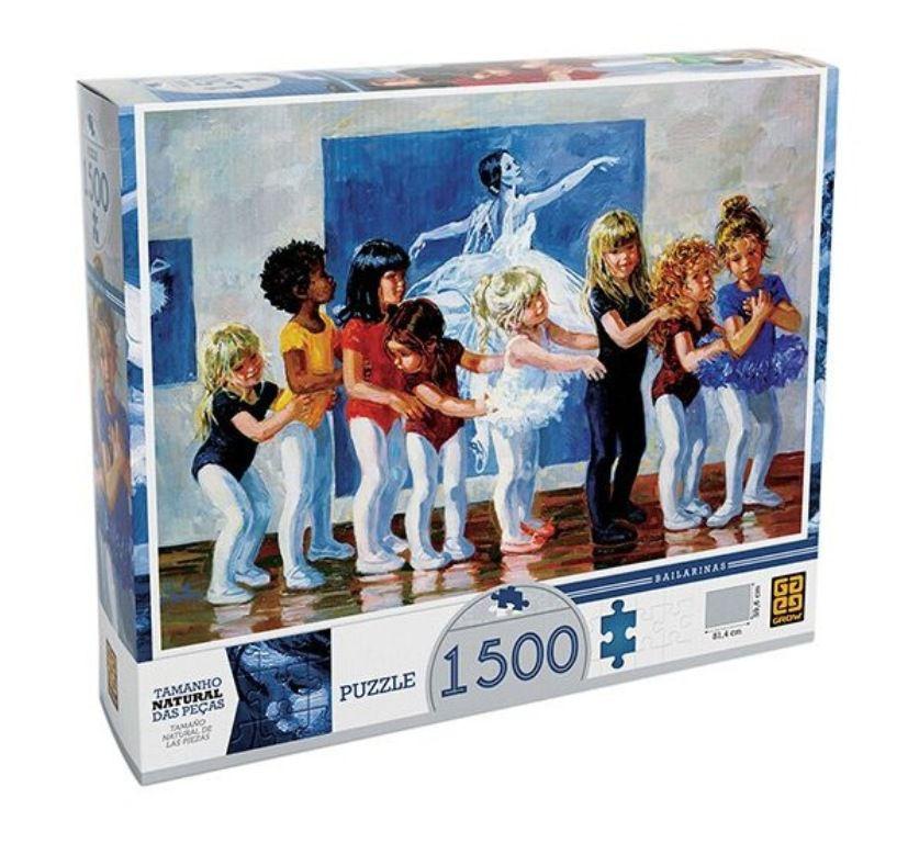 Quebra-cabeça Puzzle Bailarinas 1500 Peças - Grow