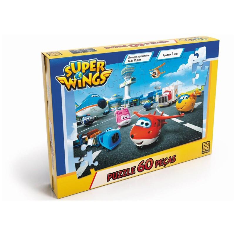 Quebra-Ccbeça Super Wings 60 Peças - Grow