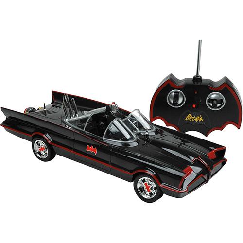 Rádio Controle Batman Batmóvel Clássico Série TV 7 Funções - Candide