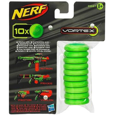 Refil Nerf Vortex 10 Discos - Hasbro