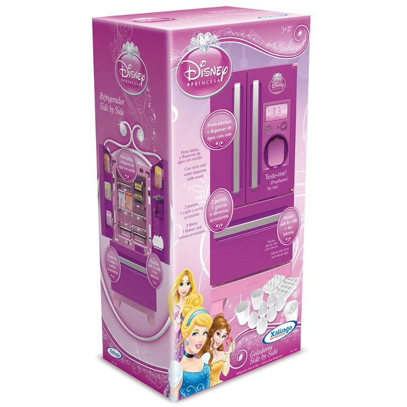 Refrigerador Side By Side Princesas Disney - Xalingo