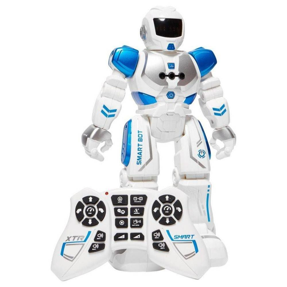Robô Inteligente com Controle Remoto X Trem Bots Smart Bot - FUN