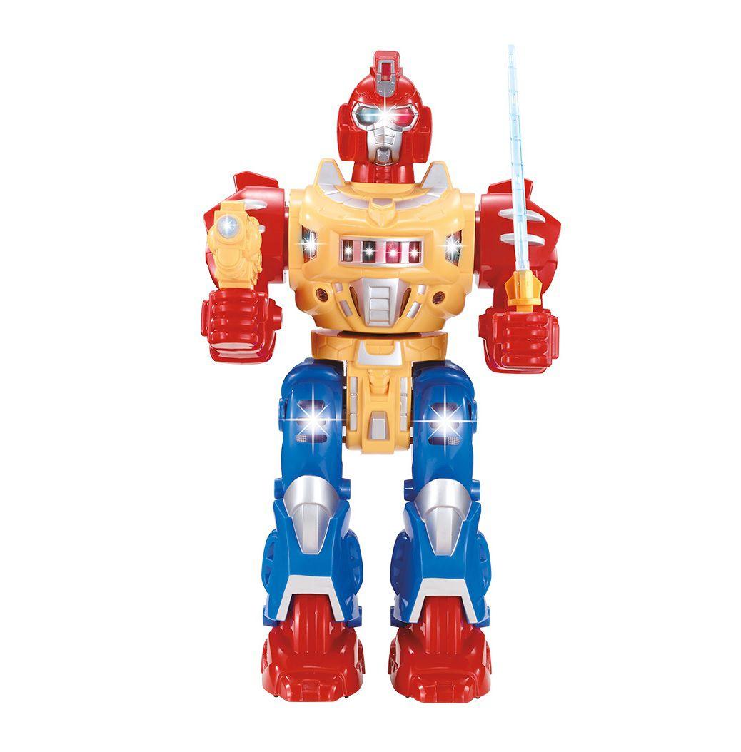 Robô Series Ares com Luz, Som e Movimento - Dm Toys