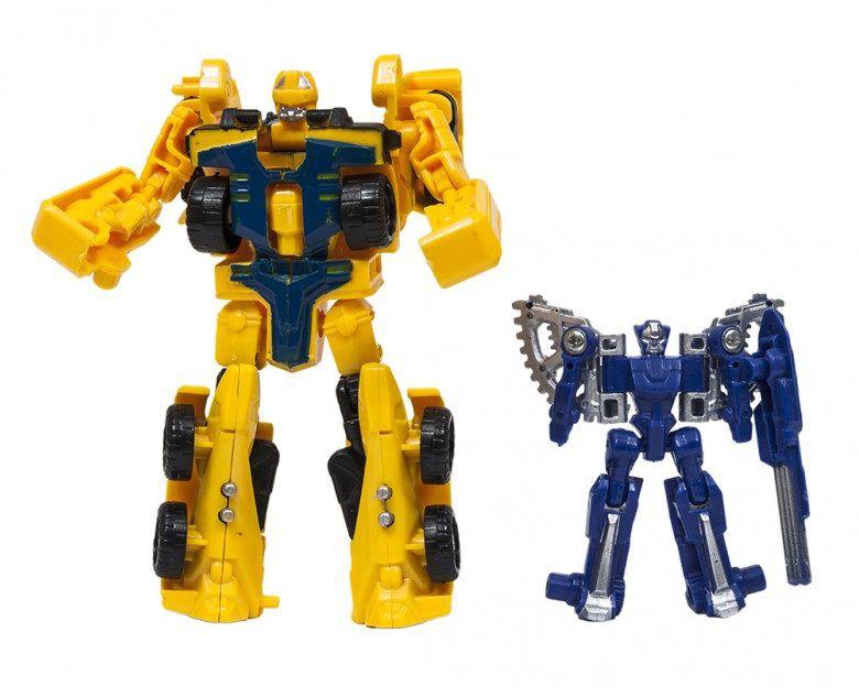 Robô Transformável Dupla Força - Buba