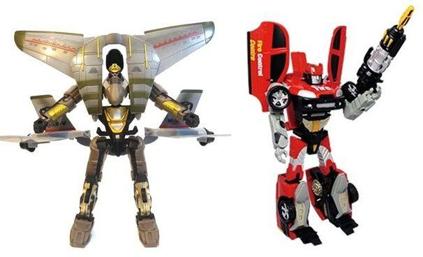 Robô transformável Super Missão - Buba