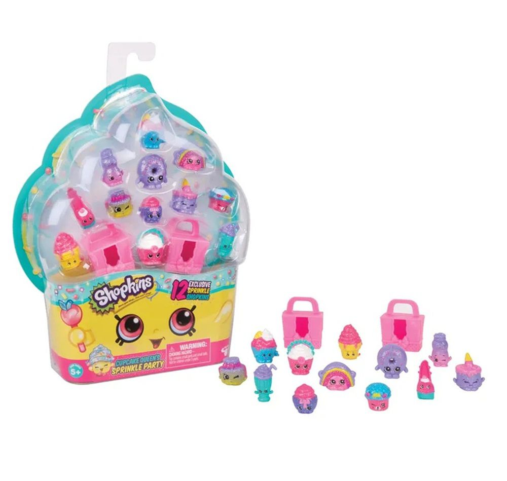 Shopkins Festa Doce com 12 Shopkins Brilhantes Exclusivos - DTC