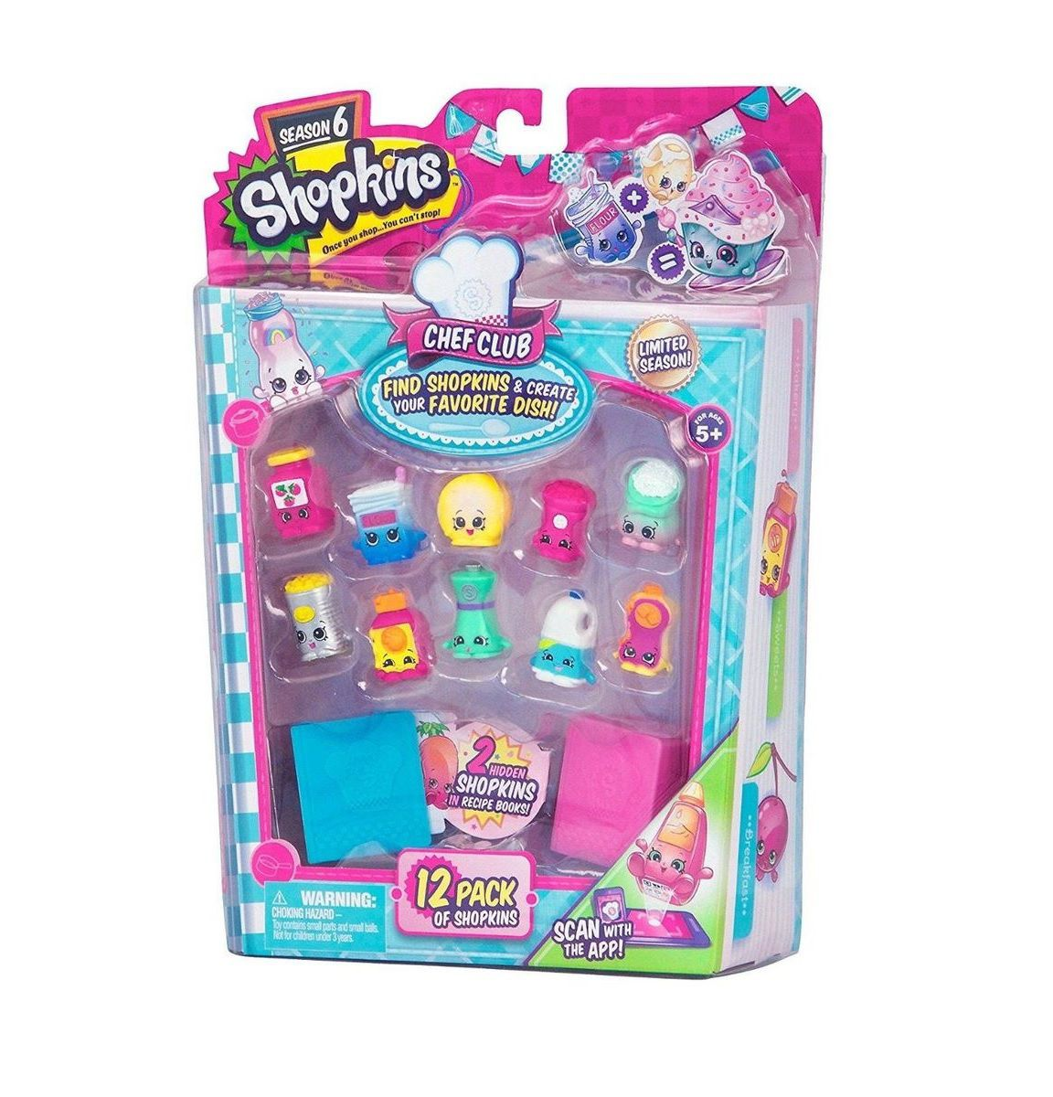 Shopkins Série 6 Chef Club Sortidos - DTC