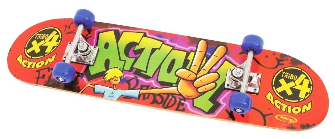 Skate Action com Lixa - Xalingo