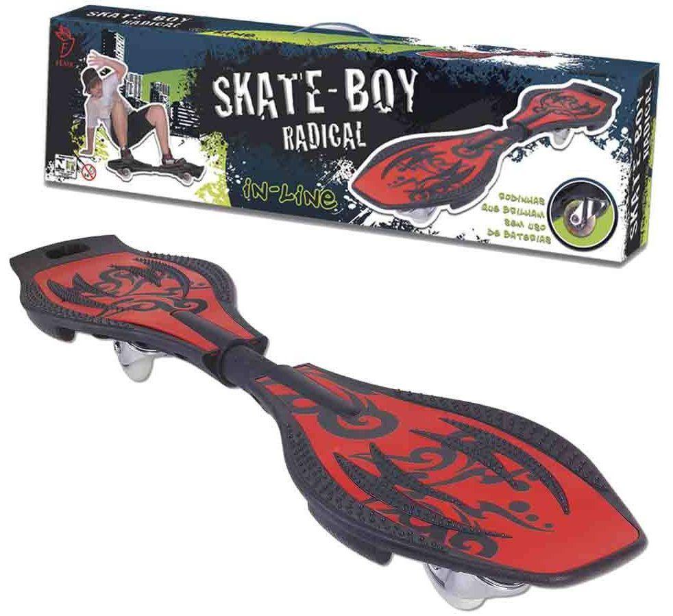 Skate In Line Boy Radical 2 Rodas - Fenix Brinquedos