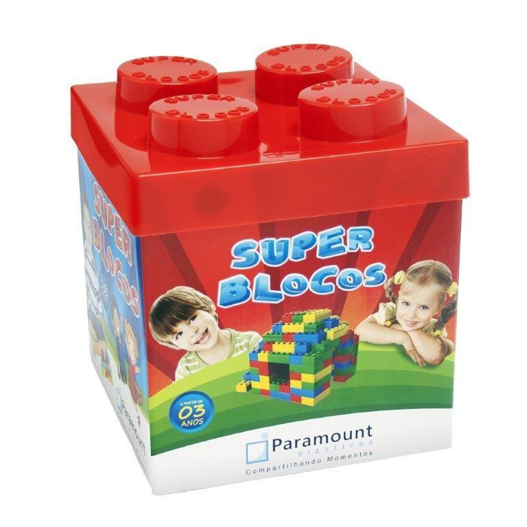 Super Blocos com 150 Peças - Paramount