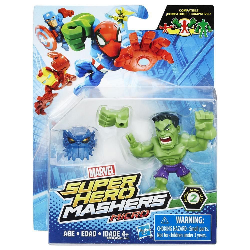 Super Hero Mashers Micro Hulk Marvel - Hasbro