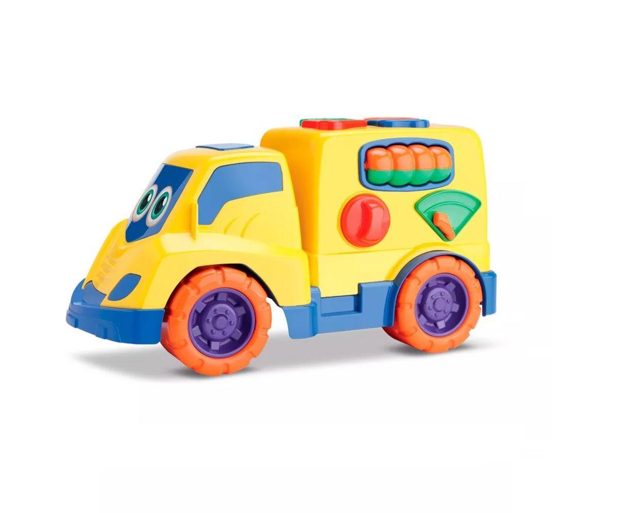 Tchuco Baby Caminhão de Encaixes Sortidos - Samba Toys