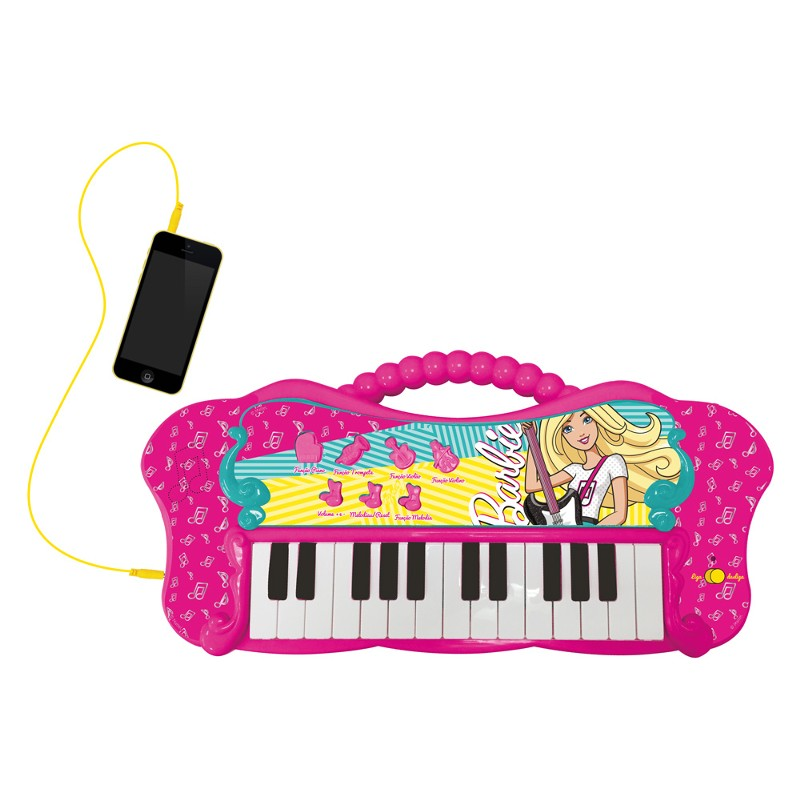 Barbie Linha Musical Teclado Glamouroso com MP3 Player - Fun