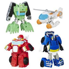 Transformers Rescue Bots Equipe de Resgate de Griffin Rock Playskool Heroes - Hasbro