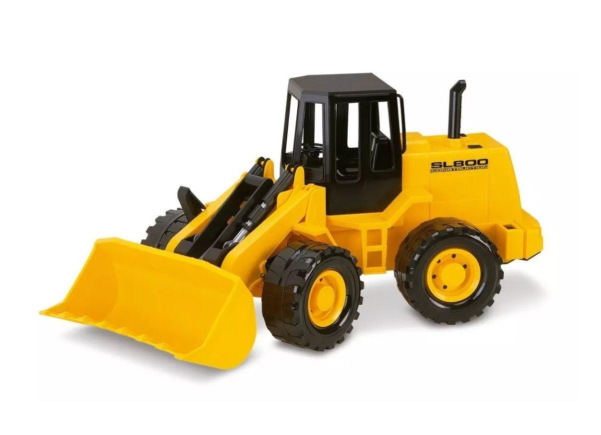 Trator Escavadeira SL800 Construction - Silmar Brinquedos