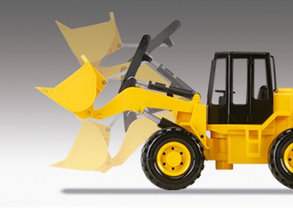 Trator Retroescavadeira RL1600 Construction - Silmar Brinquedos
