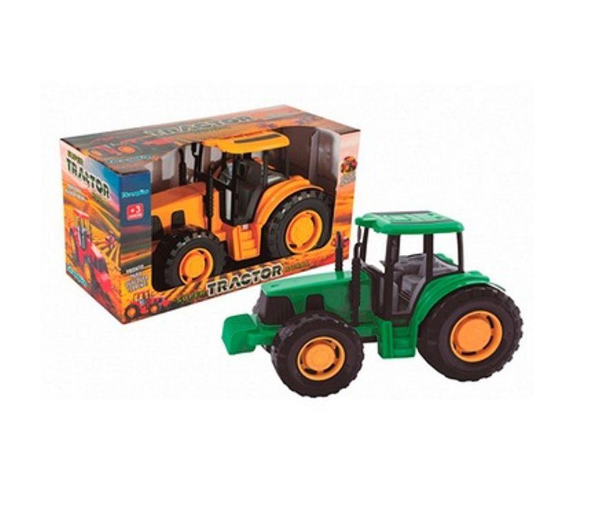 Trator Super Tractor Rural Sortidos - Diverplas