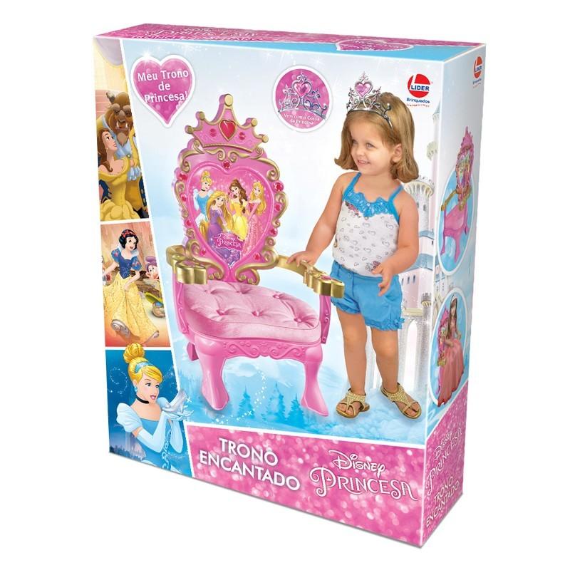Trono Encantado Princesa Disney - Lider