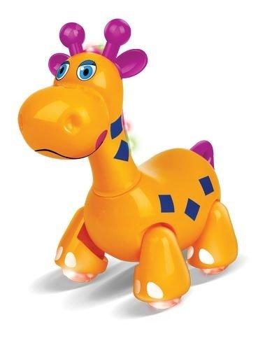 Turminha Divertida Girafa Musical Laranja - Zoop Toys