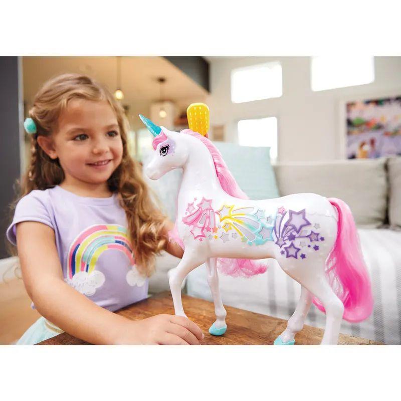 Unicórnio Barbie Dreamtopia Luz e Som - Mattel
