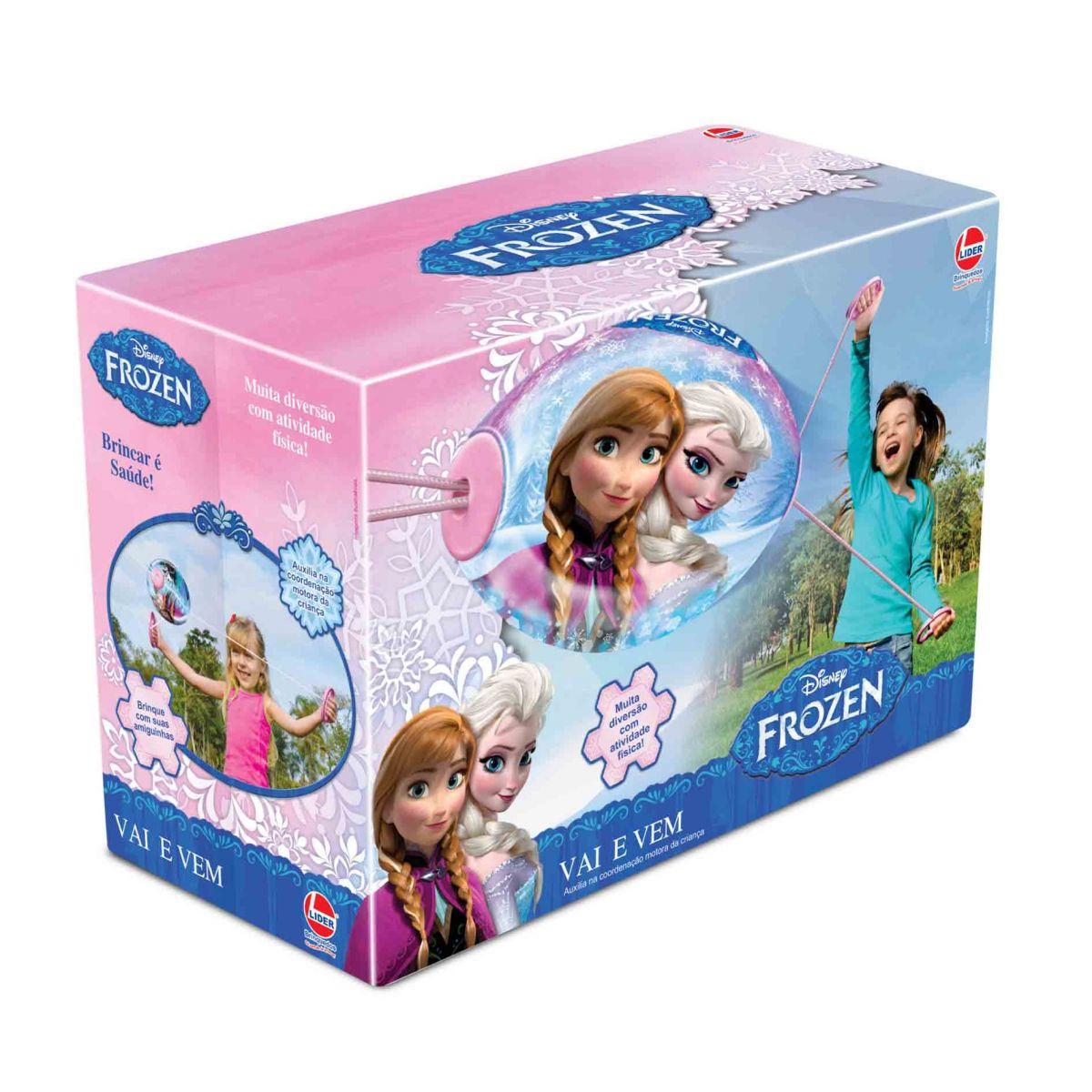Vai e Vem Frozen Disney - Lider Brinquedos