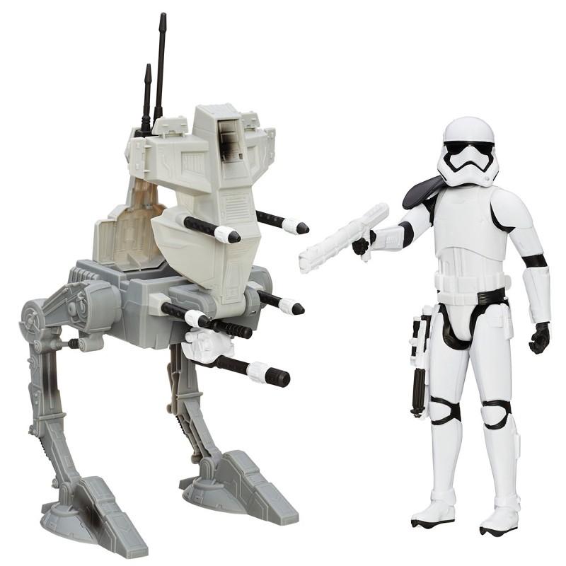 Veículo com Boneco Star Wars Episódio VII Assault Walker - Hasbro