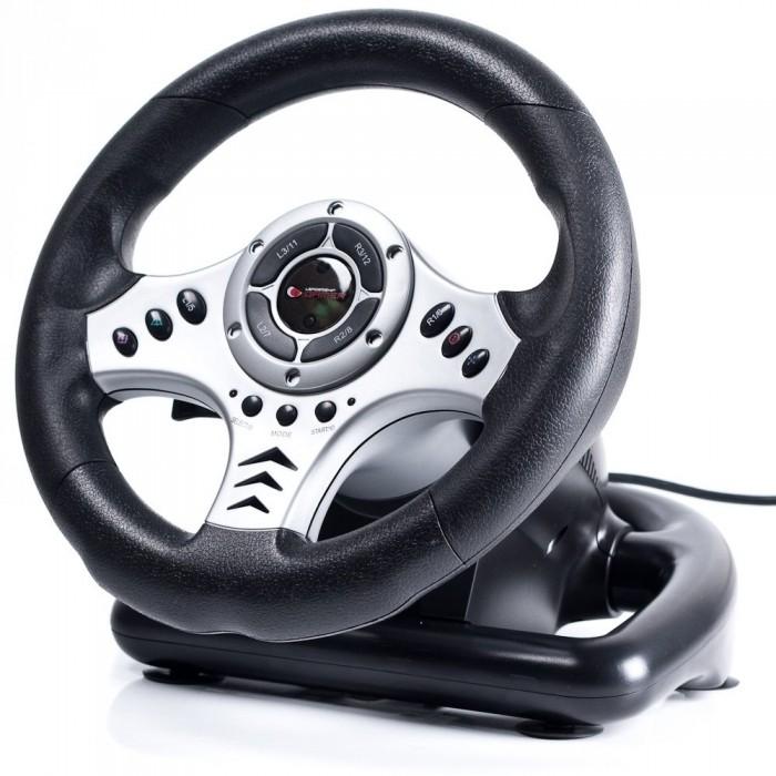 Volante Sem Fio Vibration Universal PC/ PS2 / PS3 - Leadership Gamer
